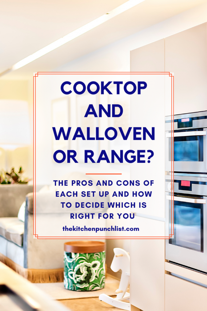 pin for cooktop/wall oven vs range