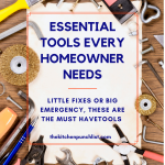 essential tools every homeowner needs pin