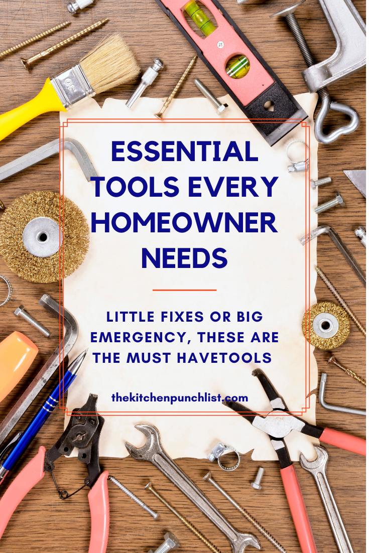 Essential Tools Every Homeowner Must Have