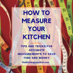 how to measure your kitchen pin